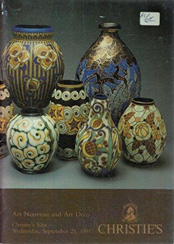 Art Nouveau, Art Deco and Studio Pottery. Monday March 8 1976