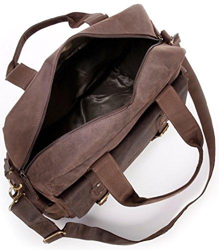 Venta Genuina Con Paypal En Línea Barata LEABAGS Garland borsa vintage in vera pelle di bufalo - Noce moscata Noce Moscata Tienda De Venta Salida Éxito De Ventas Aclaramiento TH670Vcxd