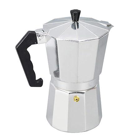 Cafetera de Aluminio Moka Cocina Italiana Olla de Olla Superior ...