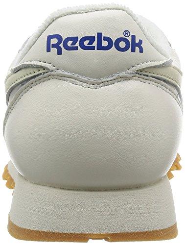 Vintage Classic Leather Sportswear 43 Chalk Reebok nWaTcT