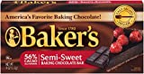 Baker's Semi-Sweet Baking Chocolate Squares, 4 oz