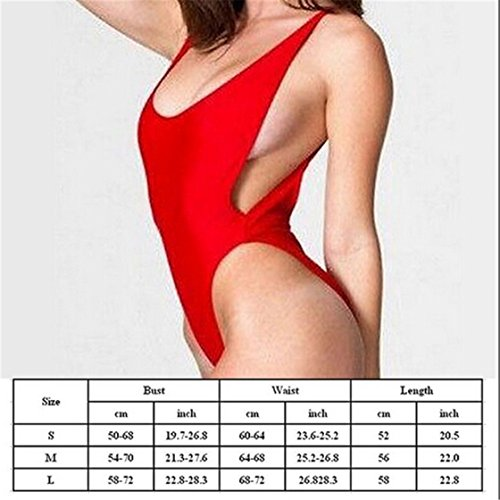 TraveT Vintage Backless Swimsuit Bathing