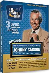 The Ultimate Johnny Carson Collection - His Favorite Moments From The Tonight Show (Vols. 1-3) (1962-1992)