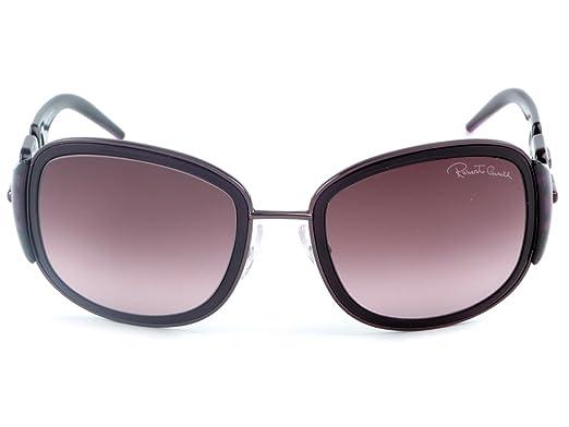 8f68b353f9b4 ROBERTO CAVALLI - Sunglasses - Woman - Lunettes de soleil Roberto Cavalli  femme 100016803 violet - TU  Amazon.co.uk  Clothing