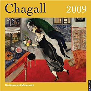 Chagall: 2009 Wall Calendar New York Museum Of Modern Art
