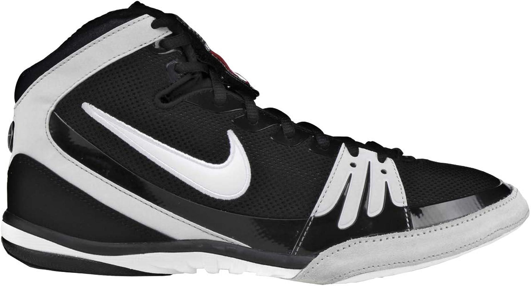 Nike Freek wrestling shoes Black White