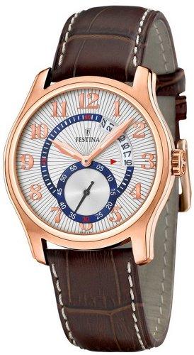 Festina Men's Quartz Watch Trend Chelsea F16277/5 with Leather Strap