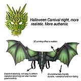 Fantasy Halloween Dinosaurio Dragon Mask Set