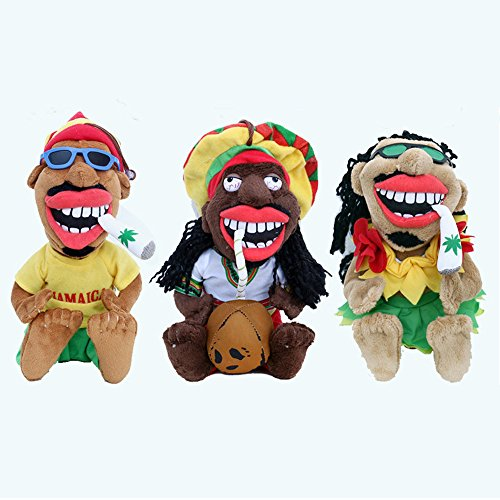 20CM Cool Black man Plush Toys Doll Cute Smoking Aboriginals for sale  Delivered anywhere in Canada
