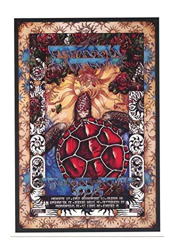 Grateful Dead Handbill 1995 Summer Tour Michael Everett
