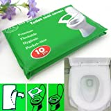 4 Packs 40Pcs/Lot Disposable Paper Toilet Seat Covers Camping Festival Travel Loo^