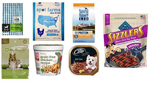 Dog Food and Treats Sample Box (get $11.99 credit for future purchase of select dog food & treat products)