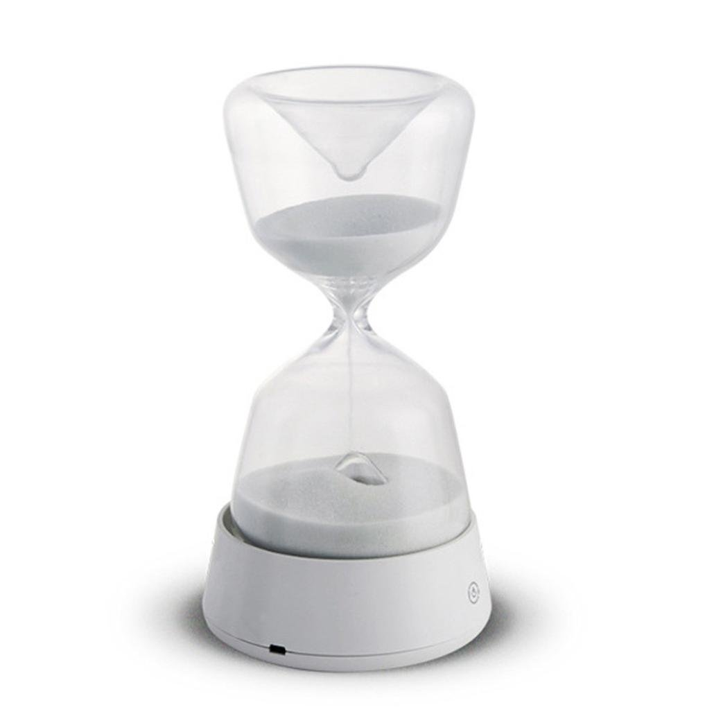 Amazon com: Rechargable Crystal Hourglass 15 Minute Sand