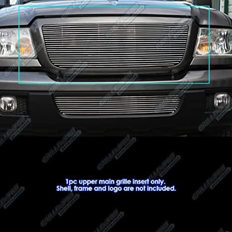 APS F85342A Polished Aluminum Billet Grille Replacement for select Ford Ranger Models