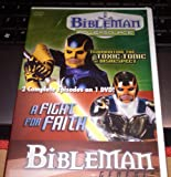 """Bibleman Powersource """"Terminating the Toxic Tonic or Disrespect"""" & Bibleman Genesis """"A Fight for Faith."""" 2 Complete Episodes on 1 Dvd!"""