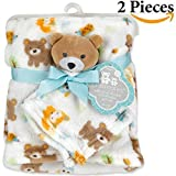 Cribmates Soft Plush Blanket and Blankie Pal Set