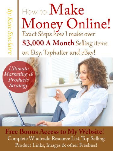 Make Money Online – Exactly how I Make over $3,000 Monthly selling Products on Etsy, Tophatter  eBay!