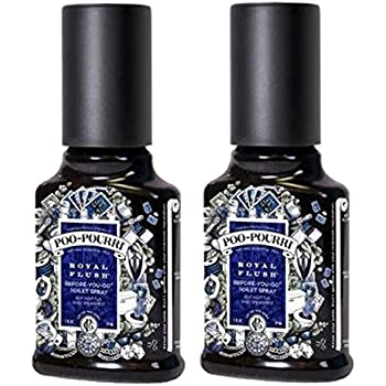 Poo Pourri Bathroom Deodorizer Set Royal Flush Eucalyptus With Spearmint 3 Piece