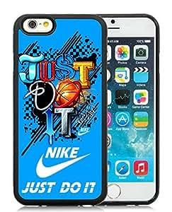 Fashion Designed Cover Case For iPhone 6 4.7 Inch TPU With Nike 9 Black Phone Case Kimberly Kurzendoerfer