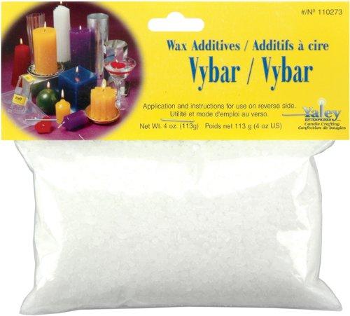 Yaley 110273 Vybar Candle Making Wax, 4-Ounce