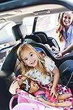 Joovy Doll Toy Car Seat - Pink Dot
