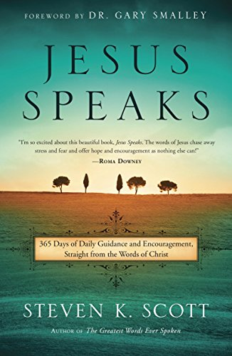 Jesus Speaks: 365 Days of Guidance and Encouragement, Straight from the Words of Christ cover