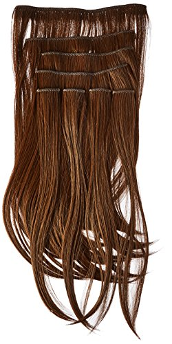 Donna Bella Full Head Synthetic Clip In Hair Extensions, 18