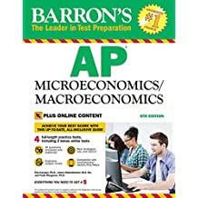 Barron's AP Microeconomics/Macroeconomics: with Bonus Online Tests