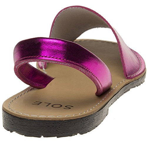 Sole Sandals Toucan Metallic Pink Metallic rSnqprTCw