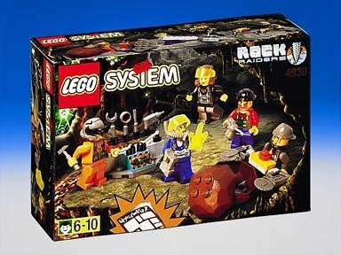 Crew Rock Raiders LEGO Set 4930