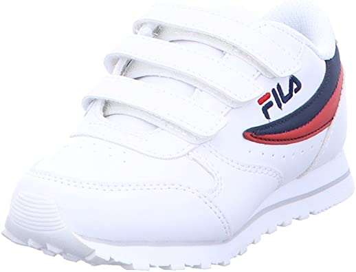 Fila - Zapatillas deportivas para niño con el Vecro Blanco Size: 30 IT bambino: Amazon.es: Zapatos y complementos