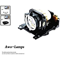 AWODT00911 DT00841 Premium Replacement Lamp with Housing for HITACHI CP-WX400 CP-WX410 CP-X201 CP-X206 CP-X301 CP-X306 CP-X401 CP-X450 CP-X467 CP-ED-X31 CP-X33 CP-X200/X205/X30/X300/X300WF/X305/X32