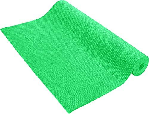 Pure Fitness 3mm Yoga Mat Emerald Green
