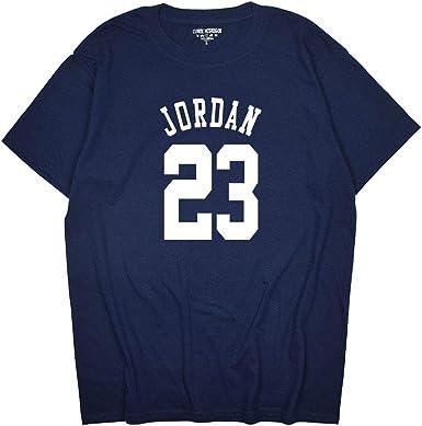 LJA Jordan 23 Hombres Camiseta de algodón Camisa de la impresión de los Hombres: Amazon.es: Ropa y accesorios