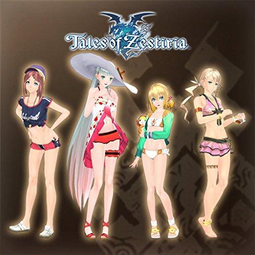 Zestiria Costumes (Tales Of Zestiria - Seaside Resort Costume Set (Female) - PS3 [Digital Code])