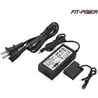 FIT-POWER EH-5 EP-5A AC Power Adapter kit ( NIKON EN-EL14 / EN-EL14a Battery Replacement ) for Nikon D3100 D3200 D3300 D5100 D5200 D5300 D5500 Df P7000 P7100 P7700 D7800 Camera