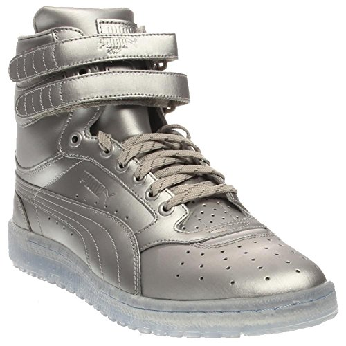 Puma Sky Ii Hi Platinum Mens Silver Leather High Top Lace Up Sneakers Shoes 13 (Platinum High Tops compare prices)