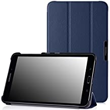 MoKo Samsung Galaxy Tab 4 8.0 Case - Ultra Slim Lightweight Smart-shell Stand Case for Samsung Galaxy Tab 4 8.0 Inch Tablet, INDIGO (WILL NOT Fit Samsung Galaxy Tab 3 8.0)