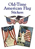 Old-Time American Flag Stickers, , 0486424081