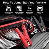 Audew Upgraded Car Jump Starters, Jump Box 2000A