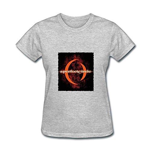 OULIN Men's A Perfect Circle Symbol Vest Grey XL (Symbol Circle A Perfect)