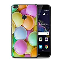 STUFF4 Phone Case / Cover for Huawei P8 Lite (2017) / Flying Saucers Design / Confectionery Collection