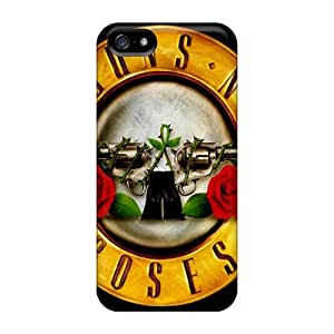 For Jiangxiaodian Iphone Protective Case, High Quality For Iphone 5/5s Guns N Roses Skin Case Cover