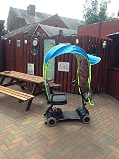 Mobility Scooter Rain Cover Sun Shade Light Weight & Simplantex Black Mobility Scooter Canopy - SCPY001: Amazon.co.uk ...