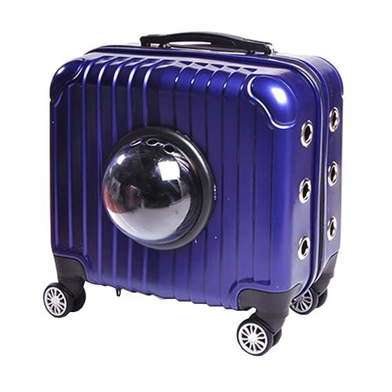 LXYUCWB Bolsa para Mascotas Bolsa de Viaje portátil Carcasa para Gatos Jaula para Perros Caja de Aire Suministros para Exterior, Suministros para Mascotas ...
