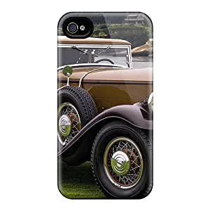 [LZOshzx8965YhUgK]premium Phone Case For Iphone 4/4s/ Old Car Hard Case Cover
