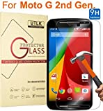 UTLK Tempered Glass Screen Protector for Motorola Moto G, 2nd Generation - HD Clear
