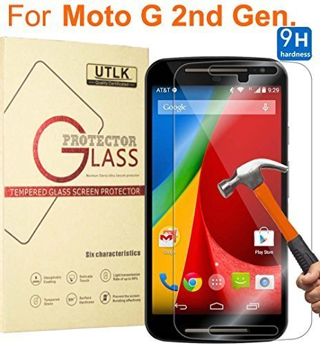 moto x 2014 screen protector wet - 3