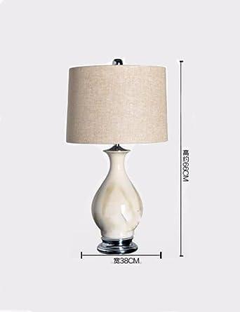 CJSHV-Lámpara de mesa de cerámica de alta calidad, Estilo ...