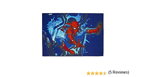 Alfombra Infantil Spiderman 133 x 95cm Disney Acci/ón